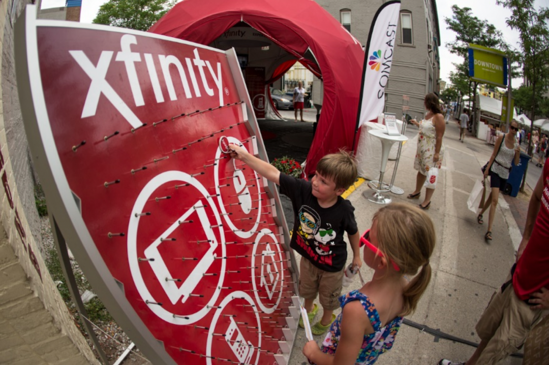 Comcast XFINITY Consumer Events